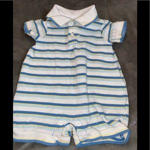 Boys Children's Place 0-3 mos romper.